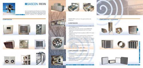 Interior catàleg tríptic de producte